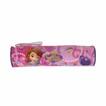 Disney Junior Sofia The First Round Pencil Case Pink