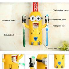 Dispenser Odol Minion - Tempat Odol dan sikat gigi