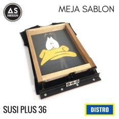 Distro Meja Sablon Susi Plus 36