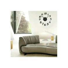 DIY Acrylic Wall Clock 30-50cm Diameter Jam Dinding Unik
