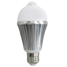 E2.7W PIR Motion Sensor Security Flood Projection Bulb Light Lamp Floodlight Bulb Warm White Light