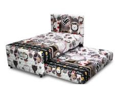 Elite Kasur Springbed Elite Kids Amazon 2in1 - Full Set Lilac - 90x200 - Khusus Jabodetabek