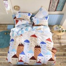 European Town Home Textiles 4pcs Bedding Set King Size Queen Size, Bed Linen, Bed Set Sheet / Duvet Cover / Comforter Bedding Sets