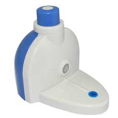 Fang Fang Touch Automatic Auto Squeeze Out Toothpaste Dispenser PO New (White + Blue)
