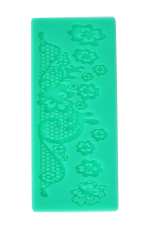 Fang Fang Flower Instant Silicone Fondant Lace Mold Cake Mold Decoration Baking Tools