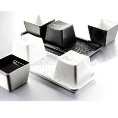 Fashion Button Shape Minimalist Glass Quality (658)