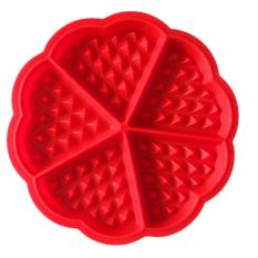 Fashion Hot Heart-shaped Waffles Mold 5-Cavity Bundt Oven Muffins Baking Mould Cake Pan Silicone Mold Tool - Intl