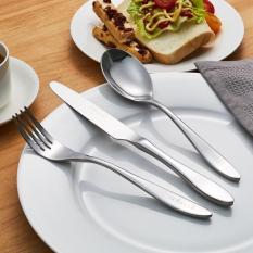 Fashion Stainless Steel Flatware Set Dinnerware Set Cutlery Tableware Hotel Fork Knife Spoon Teaspoon - Intl