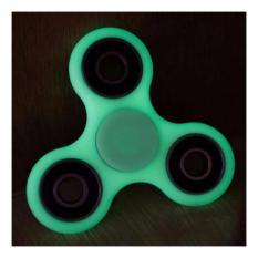 Lucky - Glow in the dark Fidget Spinner Hand Toys Focus Games / Mainan Spiner Tangan Penghilang Kebiasan Buruk - Random Color / 1 Pcs