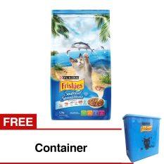 Friskies Seafood Sensation - 1.2 Kg + Free Container
