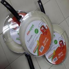 Frypan Fincook 26 Cm+Rak Ceramic Ceratinum/Wajan Penggorengan/Wajan Anti Lengket/