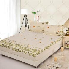 GoGoLife Soft Fitted Bed Sheet-36# Beige