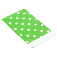 Green Polka Dot Plastic Table Cover Disposable 70*42Disposable Tablecloth