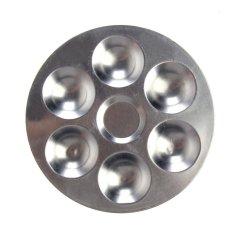HAOFEI Aluminum Round Palette