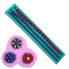 HL Daisy Flower Cookie Cake Decorating Tools And Silicone String Ofpearl Cupcake Kitchen Fondant Molds Kitchen Accessories Cake Moldstand - Intl