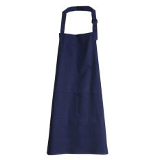 HL Korean Fashion Home Kitchen Dark Blue Aprons