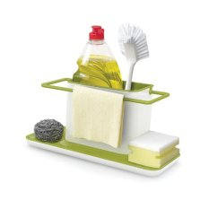 Holder Sponge Kitchen Box Draining Rack Dish Draining Storage Kitchen Organizer
