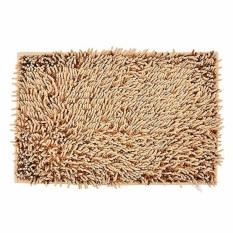 Home-Klik Keset Cendol Bahan Microfiber 40 x 60 cm - Coklat