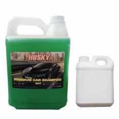 Husky Shampoo Mobil + Iwa Semir Ban