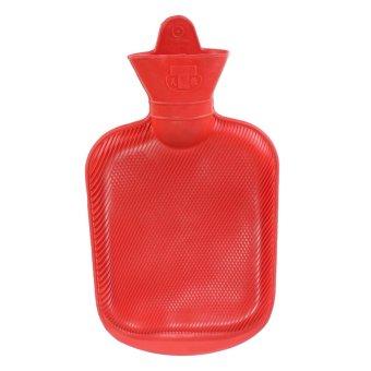 8PCS Rubber Hot Water Bottle Bag Warm Relaxing Heat / Cold 1L - intl