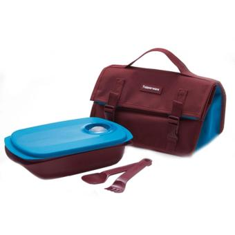 Tupper-Ware Bring Your Own Lunch Set Bekal Makan BYO Diskon