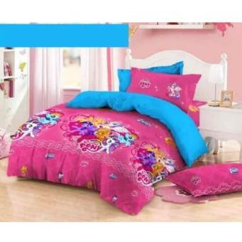 Alona Ellenov Jepang Little Pony Dream Bed Cover Set Katun Jepang Super 120 x 200