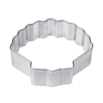 Stainless Steel alat pembuat roti biskuit sayuran buah cetakan Shell pemotong kue - Internasional