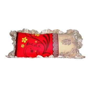 Harga Monalisa Sarung Bantal Cinta Motif Carlota - Merah