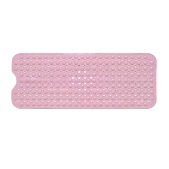 360DSC Non-slip PVC Massage Bath Mat Pad Shower Tub Bathroom Mat with Suction Cup (40*100CM) - Pink