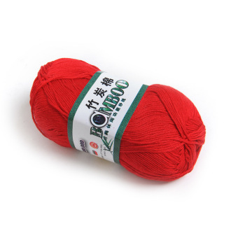 20 Colors Natural Soft Bamboo&Cotton Skein High Quality Baby Yarn
