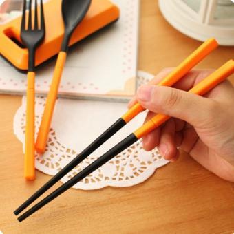 Harga Set Alat Makan Sendok Sumpit Garpu, Korean Style