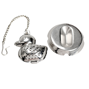 Duck Shape Stainless Steel Infuser Filter Strainer Tea Ball Spoon