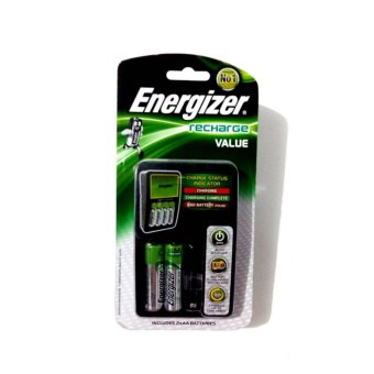 Charger Batteries & 2pcs AA Batteries. Harga Energizer Charger Batteries .
