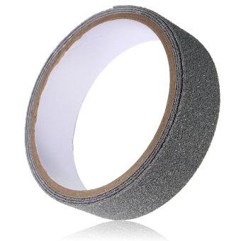 Roll Safety Non Skid Tape Anti Slip Tape Sticker Grip Safe Grit Bathroom Shower grey - Intl