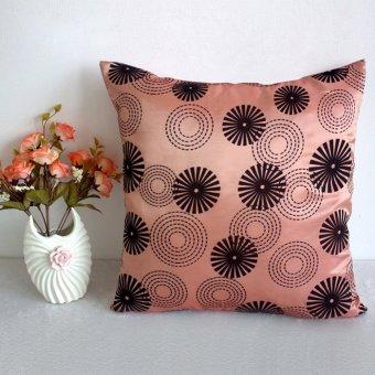 Pillowcases Car Back Cushion Cover Bed Sofa Decor Accessory – Pink