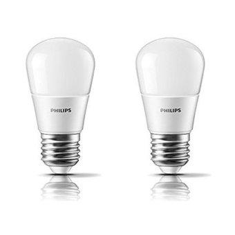 Harga Philips Lampu Bohlam LED Bulb - 4W - 2 Pcs - Kuning