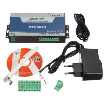 NEW Arrival 2G GSM Door Opener(RTU5025) Authorized 999 users openGate/Barrier/Shutter/Garage Door for car parking systems - intl