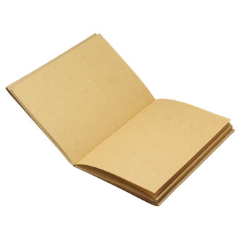 Harga 32K Kraft paper inside page Vintage Back Blank Kraft Paper Sketchbook Journal Diary Sketching Note