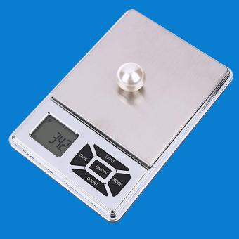Digital Scale 500g x 0.01g Jewelry Gold Silver Coin Gram Pocket Size Herb - intl