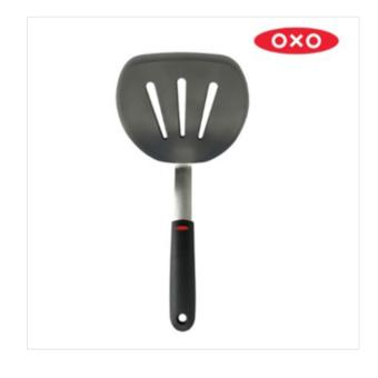 [OXO] silicon pancake utility turner/ stainless steel /OXO Good Grips Silicone Flexible Pancake Turn - intl