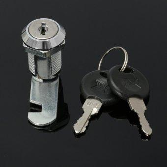 Cam kunci 25 mm Gym Mail Box lemari gambar lemari kantor lemari 2 kunci - Internasional