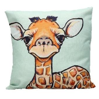 Sofa Bed Home Decor Pillow Case Cushion Cover - intl