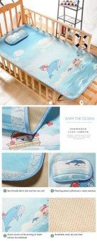 Trolley Mat Mat Mat Baby Summer Mat Baby Bed Mattress Keeper Kindergarten Kimchi Cartoon Large Print - intl
