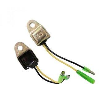 New Pack of 2 Low Oil Alert Sensor for Honda GX160 GX200 GX240 GX270 GX340 GX390 5.5HP 6.5HP 8HP 9HP 11HP 13HP - intl
