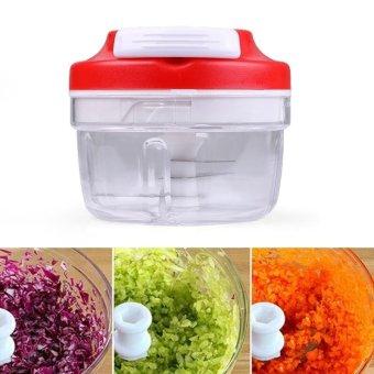 Vegetable Meat Fruit Nuts Chopper Cutter Grinder Shredder color:Green - intl