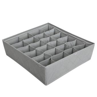 HAOFEI 3 in 1 Closet Storage Bag Case Bamboo Charcoa Grey