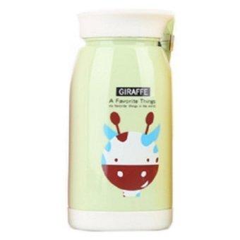 Botol Minum Plastik Cartoon Animal 480ml - SM-8232 - Green