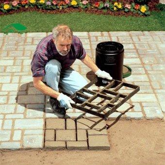 60x50cm Pathmate Mold Paving Stone Pavement Paver Maker Mould DIY - intl