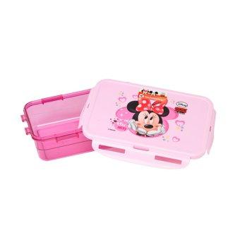 Harga Disney Minnie Mouse Lunch Box 750Ml Merah Muda
