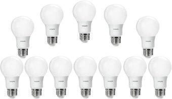 Harga 12pcs Lampu Bohlam LED Philips 6w/watt - 50watt Putih